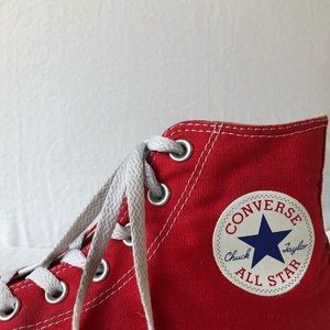red high top converse!